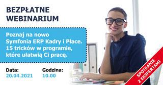 Webinarium: 15 tricków w programie Symfonia ERP Kadry i Płace, które ułatwią Ci pracę.